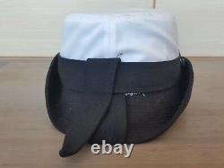 Rare IDF Israel Army Navy Corp Vintage Naval Officer Visor Hat Bernard Cap women