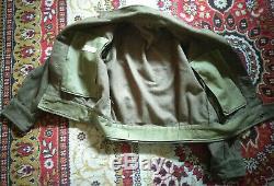 Rare Vintage Israeli Idf Military Army Jacket 1960's Judaica