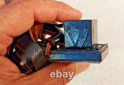 Rare Vtg Military Idf Zahal Tefillin & Prayer Shawl Tallit & Original Bag 60's
