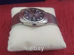 Rare Watch Swiss TISSOT Seamaster Automatic LOBSTER Blue Dial FOR Men's IDF