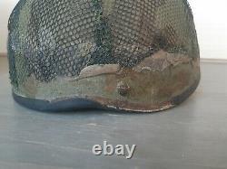 Rare vintage Israeli IDF Helmet With Cover size B israel zahal