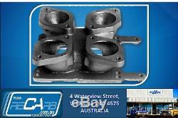 Redline 12-3143 Twin IDF to 4 Barrel Holley Carburettor Adaptor