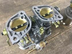 Set (2x) 44 Idf 71 WEBER Carburettor Twin VW Beetle Porsche 356 912 914
