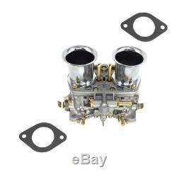 Set of 2 44IDF Carburetor for VW Fiat Porsche Bug Beetle with Air Horn 44 IDF