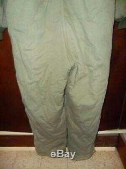 THE REAL DEAL Israeli Army Idf Coverall Hermonit Extreme Cold Suit Zahal XL