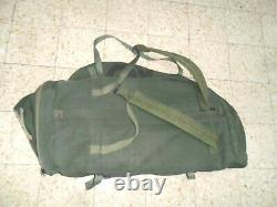 THE REAL Zahal Idf Carry All Field Combat Golani Duffle Bag Canvas Israeli Army