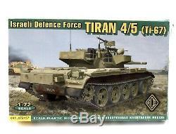 TIRAN 4/5 Ti-67Israeli Defense Force Ace 172 Scale Kit 72157