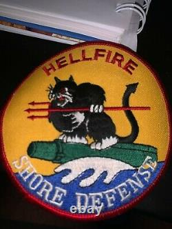 The Israeli Air Force Ramon Base Logo Patch shore defense, hellfire