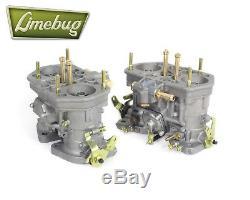 Twin Genuine Weber 40 IDF Carburetor Performance Carb VW Beetle Ghia Volkswagen