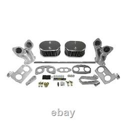 Type 1 (IDF style) Linkage Kit with Air cleaners & Offset Manifolds