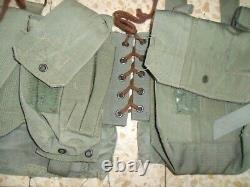 US Delta Force Navy Seals Idf Zahal 70's Ephod Vest FIRST GENERATION, Laces