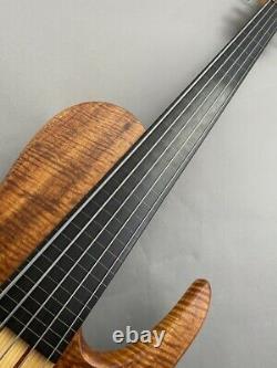 Used Fodera Imperial 5St Fretless Custom 2010 Bass Idf338