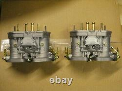 VW Type 4 Porsche 914 Pair of Weber 40 IDF With Filters Linkage & Manifolds NEW