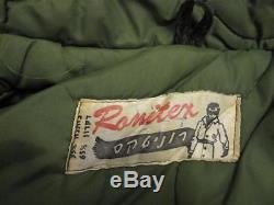 Vintage Israel Idf Army Dubon Authentic Field Coat Jacket With Hood