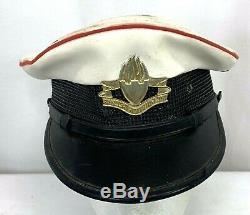 Vintage Israeli Defense Force Military Police Dress Hat