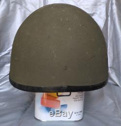 Vintage first-generation Orlite M76 Israeli helmet 1970s IDF Zahal