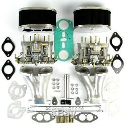 Vw Beetle Camper Air Cooled Type 1 Twin Weber Idf 40 Carbs Manifold Kit