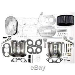 Vw Type 4 Weber/dellorto Drla/idf Throttle Linkage & Intake Manifold Kit (cb)