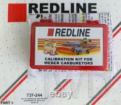 WEBER 40DCOE, 45DCOE, 40IDF, 44IDF Low Speed Calibration Jet Kit