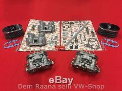 WEBER 40 IDF 70 Doppelvergaser SET für CU + CJ Motor 4Loch VW Bus T2 T3 Vergaser