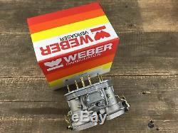 WEBER 40 IDF Doppelvergaseranlage Vergaser für VW Bus T2 T3 Typ 4 CU CJ 72-79