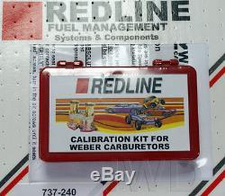 WEBER Redline 40 DCOE 45 DCOE 44IDF Dual Carburetor Carb Jetting Jet Pack Kit