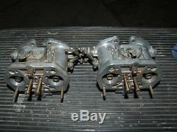 Weber 36 IDF, Alfa 33, VW bettle, Porsche