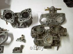 Weber 40 IDF 12 / 15 Carburetors VW Alfa Doppel Vergaser Typ 1 Made in Italy