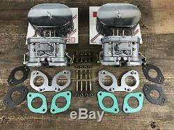 Weber 40 IDF Doppelvergaseranlage Vergaser Porsche 356 912 Ersatz für Solex PII