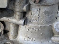 Weber 40 IDF Dual Carburetors, Italy, Cam Drive Accel Pump, Porsche 356 VW