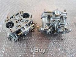 Weber 40 Idf 13-15 Twin Carburetors Vergaser Fiat 124 131 Abarth Twin Cam