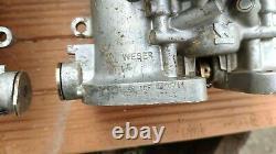 Weber 40 Idf 82/83 Twin Carburetors Vw Beetle Bus Camper Porsche 356 912 914