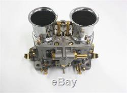 Weber 48idf 48 Idf Carburetor With Chrome Air Horns For Vwithvolkswagen/bug/beetle