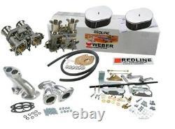 Weber Carburetor Conversion Kit For VW Bug & Type 1 Dual 44 IDF