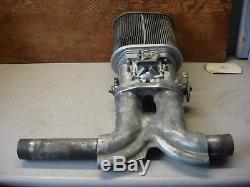Weber Carburetor Idf 44 Dellorto Air Cleaner Vw Beetle Intake Manifold Vintage