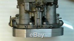Weber IDF or Dellorto DRLA adapter to mount carb on Weber IDA manifold