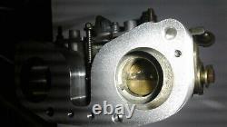 Weber IDF or Dellorto DRLA adapter to mount carb on Weber IDA manifold reverse
