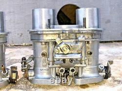 Weber idf 40 set like new condition for Fiat 124 131 abarth