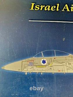 Witty WTW 72005-25 F-15C Eagle Diecast Model IDF/AF 106th (Spearhead) Sqn Israel