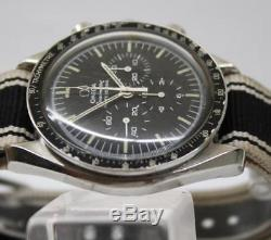 1977 Omega Speedmaster Moon Watch -a Été Utilisé Par Un Pilote Militaire Israélien De Tsahal