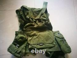 1990 Ephod Idf Israel Army Combat Tactical Assault Vest + Insigne