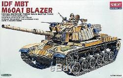 1 35 Idf Mbt M60a1 Blazer - Blazer De Char De Combat Principal De La Force De Défense Israélienne