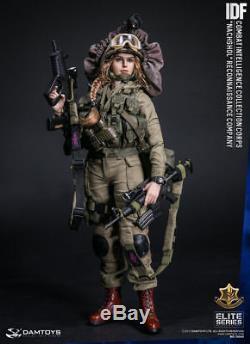 1/6 Damtoys Idf Compagnie De Reconnaissance De Nachshol Jouet Du Corps Du Renseignement De Combat