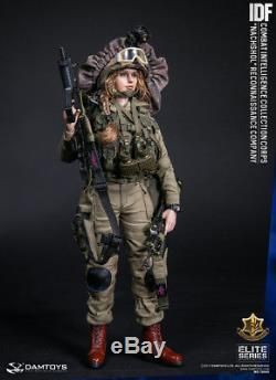 1/6 Echelle Damtoys 78043 Idf Combat Intelligence Collection Corpsr Nachshol