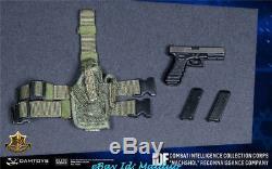 1/6 Figurine D'action Soldat Israélien Appartenant À La Collection De Renseignements De L'armée Israélienne