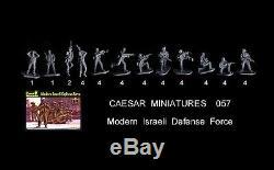 1/72 Caesar Miniatures 057 Jouets Moderne Défense Israélienne Force Des Soldats