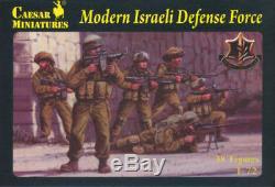 1/72 Caesar Moderne Force De Défense Israélienne (40 Chiffres) Army Men Toy Soldier H057