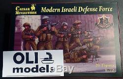 1/72 Défense Moderne Israélienne Force Chiffres Set Miniatures Caesar 57