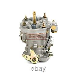 1 Paire 44idf Carburetor Carburettor Avec Air Horn Pour Jaguar Porsche Beetle Vw
