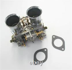 2pcs/lot 44 Idf Oem Carburetor + Air Horns Remplacement De Solex Dellorto Weber